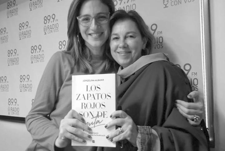 Jorgelina con Carolina Amoroso